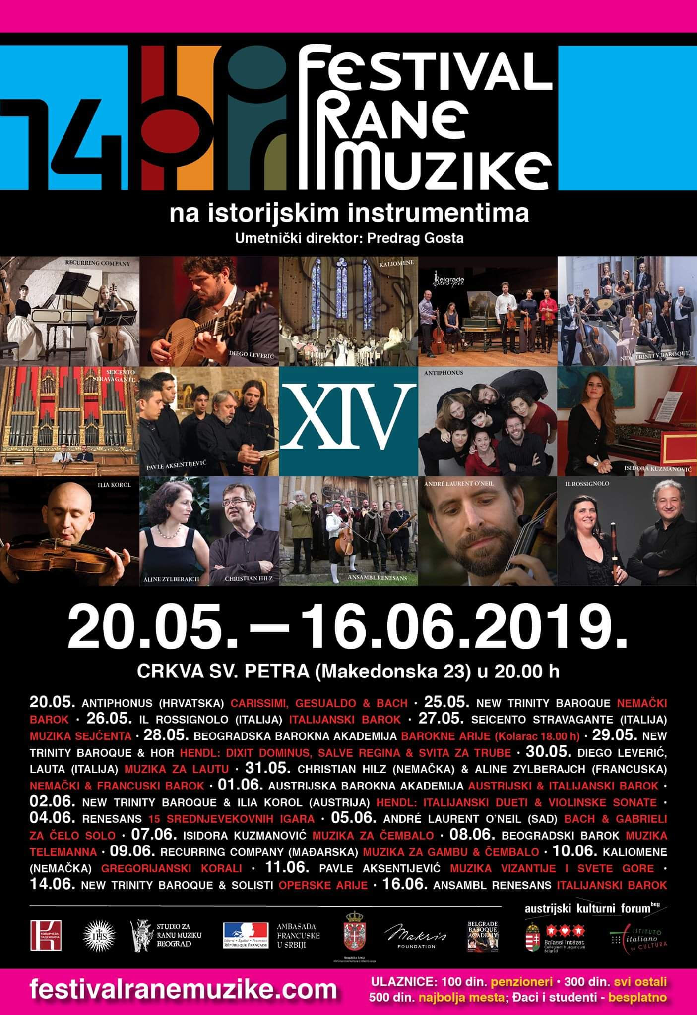 XIV EARLY MUSIC FESTIVAL BELGRADE